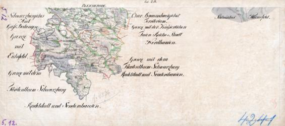 Sect. 5, 12 Bleicherode Topographische Karten - Landkarten; Altkarten