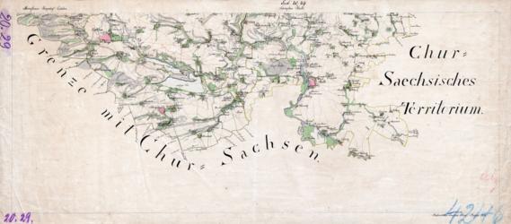 Sect. 20, 29 Eisleben Halle Topographische Karten - Landkarten; Altkarten