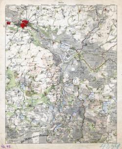 No. 46 &47, Berlin, Mittenwalde Topographische Karten - Landkarten; Altkarten