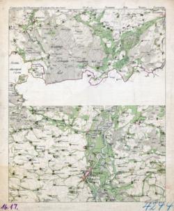 No. 16 und 17 Gardeleben, Magdeburg Topographische Karten - Landkarten; Altkarten