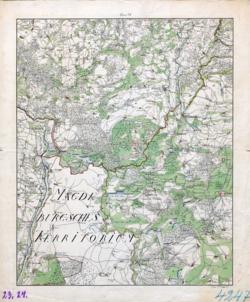 23 und 24 Kiritz, Sandow Topographische Karten - Landkarten; Altkarten