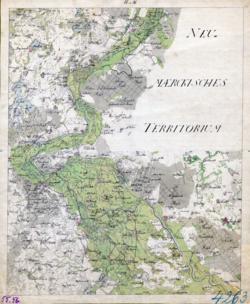 55 et 56 Schwedt, Wrietzen Topographische Karten - Landkarten; Altkarten