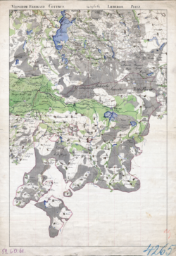 No. 59, 60, 61 Lieberose, Cottbus, Hoyerswerda Topographische Karten - Landkarten; Altkarten