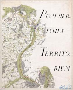 No. 53 et 54 Stettin, Gartz Topographische Karten - Landkarten; Altkarten