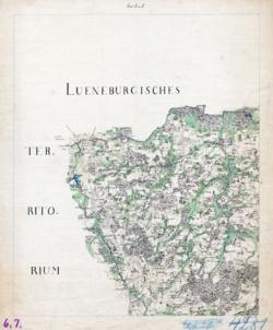 Sect. 6 et 7 Salzwedel, Betzendorf Topographische Karten - Landkarten; Altkarten