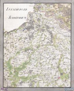 No. 14 u. 15 Seehausen, Calbe Topographische Karten - Landkarten; Altkarten