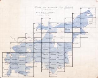 Karte der Kurmark und Pommern Topographische Karten - Landkarten