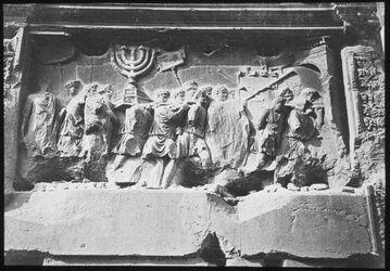 Glasplattendia Der Triumphbogen des Titus Stoedner