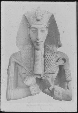 Glasplattendia Kairo, Nat. Mus. Amenophis IV.