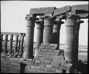 Glasplattendia Gr. Tempel in Luksor [Luxor]