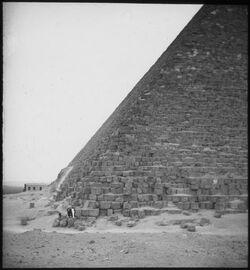 Glasplattendia Pyramide v. Ghize [Gizeh]