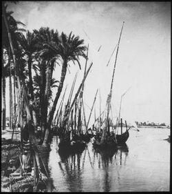 Glasplattendia Nil mir Barken Nilbarken