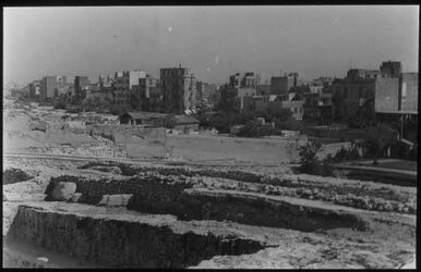 Glasplattendia Alexandrien [Alexandria], Ruinen aus röm. Zeit