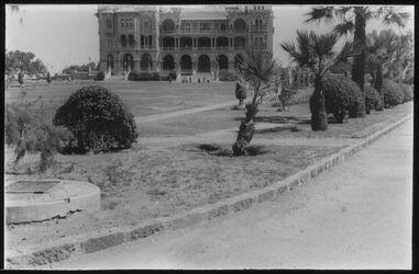 Glasplattendia Alexandrien [Alexandria], königl. Schloss