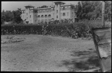 Glasplattendia Alexandrien [Alexandria], früh. Königl. Schloss