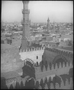 Glasplattendia Moschee in Kairo