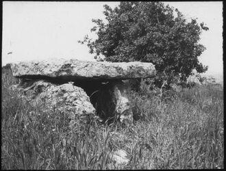 Glasplattendia Dolmen bei et-taijibe [Aglun]