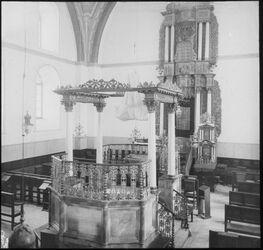 Glasplattendia Synagoge in Jerus. (Aschken.) [Jerusalem, Hurva Synagoge]