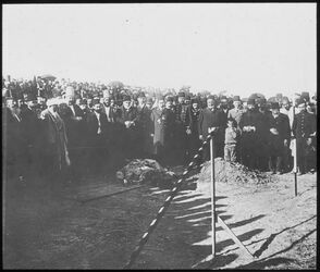 Glasplattendia Hammelopfer für die Bagdadbahn