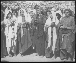 Glasplattendia sahge der Frauen, Ramallah