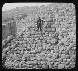 B III 2; Glasplattendia; Old Wall o Ophel [Jerusalem]