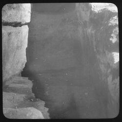 Glasplattendia Westl. Grabgrotte [Jerusalem]