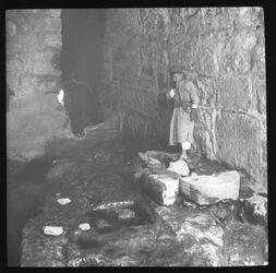 Glasplattendia Siloahkanal Ausfluss [Jerusalem]
