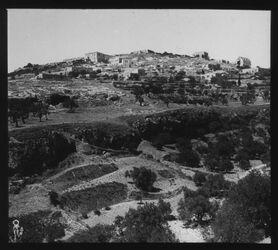 Glasplattendia Jerus, Der Berg des bösen Rates [Jerusalem]