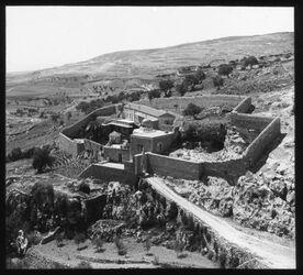 Glasplattendia Onuohrioskloster [Jerusalem]