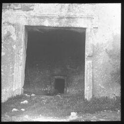 Glasplattendia Felsengrab in der Umgebung Jerusalems [er rabaabi], östl. vom Onuphriskloster