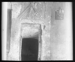 B IX 13; Glasplattendia; Eingang Mac. 56, W. rababi [Besan/Ben-Hinnomtal]