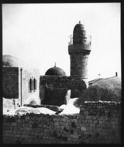 Glasplattendia Nebi daud, Jerusalem