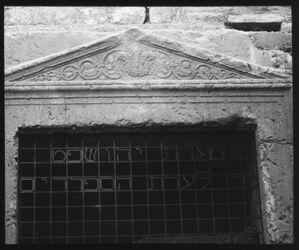 Glasplattendia Josaphatsgrab [Kidrontal, Jerusalem]