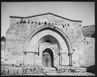 Glasplattendia Mariengrab [Jerusalem]