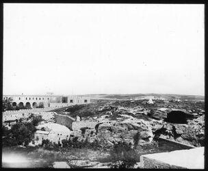 Glasplattendia Gordons Golghata [Jerusalem, ggf. Umgebung]
