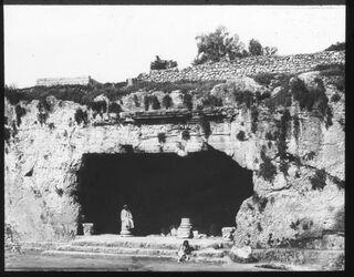 Glasplattendia Königsgräber, Jerusalem