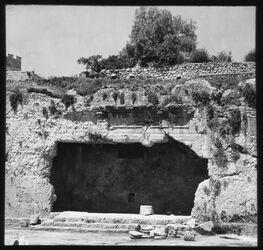 Glasplattendia Königsgräber, Vorhalle [Jerusalem]
