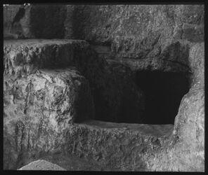 Glasplattendia Rollstein, Königsgräber [Jerusalem]