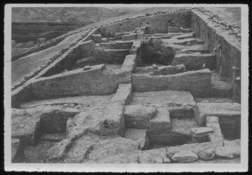 Glasplattendia Tell der-alla, Blick über Ausgrabungsfeld A,B,C