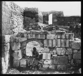 Glasplattendia Bathanien [Betanien] Haus der Maria und Martha
