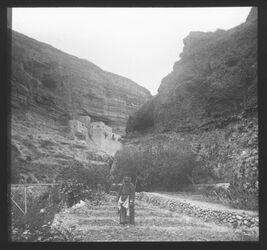 Glasplattendia Plästina, Georgskloster [wadi kelt]