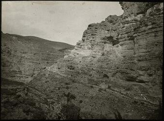 Glasplattendia W. [wadi] Kelt unterhalb Kloster