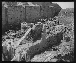 Glasplattendia Ausgrabungen in Jericho