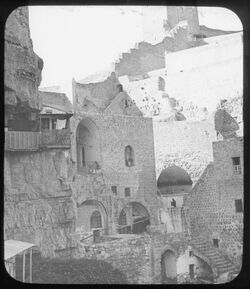 Glasplattendia Marsaba, Aufg. Z. Sabas Grab