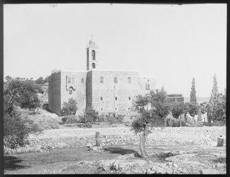 Glasplattendia Kloster mar elias zw. Jerus. U. Bethl. (Mar Elyas = Baal-Perazim)