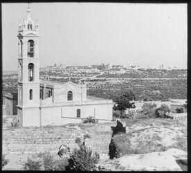 Glasplattendia Bethlehem von Betgala (Bet Gala)
