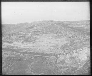 Glasplattendia Bethlehem von Osten