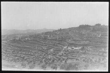 Glasplattendia Blick auf Bethelehm v. N. Jepsen