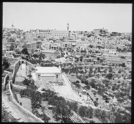 Glasplattendia Bethlehem v. Franz. Kloster II