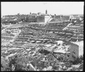 Glasplattendia Bethlehem, Geburtskirche und Franziskanerkloster